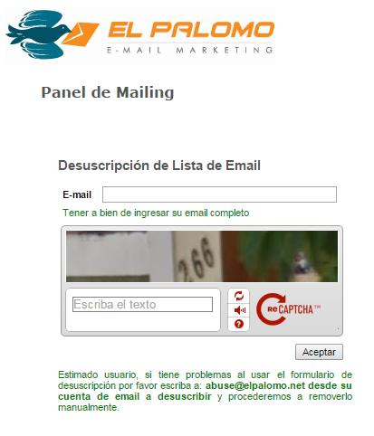 captcha-google-mailing