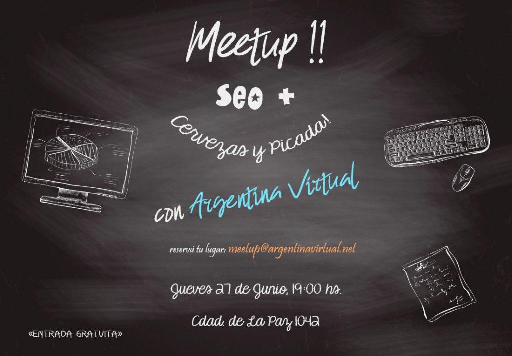Meetup de SEO – Posicionamiento en Google en Argentina Virtual
