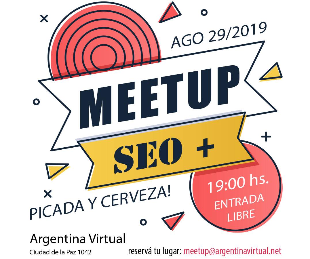 Meetup SEO de Argentina Virtual, 29 de Agosto 2019